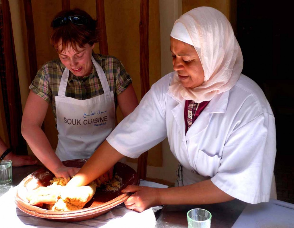 Cooking in Marrakech with Souk Cuisine