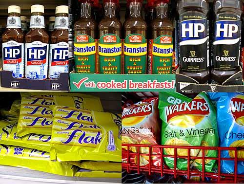 British groceries