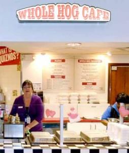 Whole Hog stall