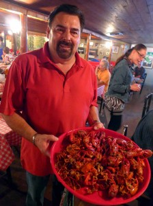 Crawfish Randy Leblanc