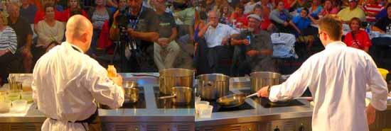 Finalists cook