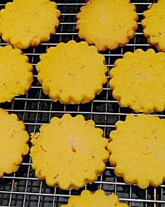 Shortbread cooling vertical
