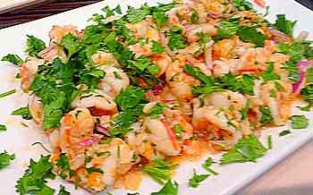 CIA shrimp dish