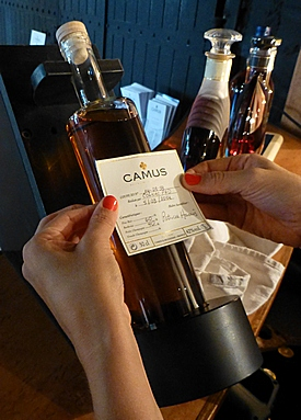 labeling my own cognac blend