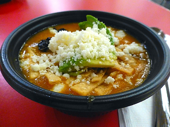 tortilla soup at Loteria!