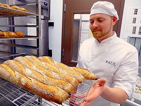 French bread - Nicolas Gautier of Maison Paul Boulangerie, Boston