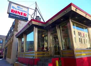Miss Washington Diner, New Britain, Conn.