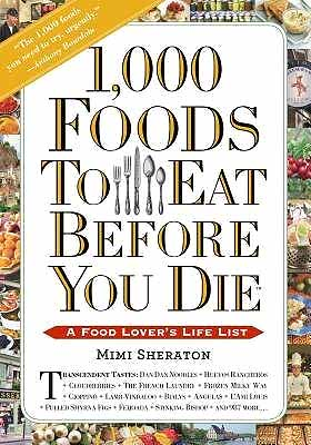 1000 Foods book jacket