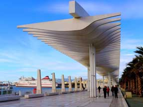 El Palmeral de Sopresas on the Málaga waterfront