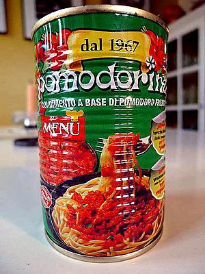 Pomodorina sauce can