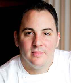 chef Doug Psaltis loves black truffles