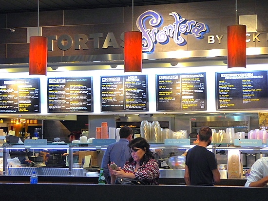 Tortas Frontera at Terminal 3 in ORD