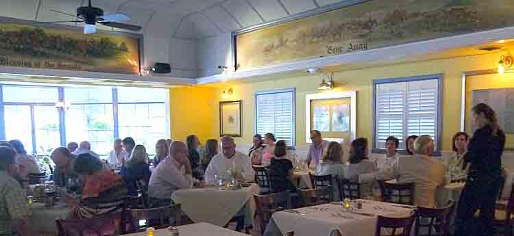 Coles Dining Room in Lexington