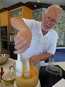 Phil Dunn makes Kentucky Beer Cheese