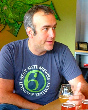 Ben Self of West Sixth Brewing in Lexington KY