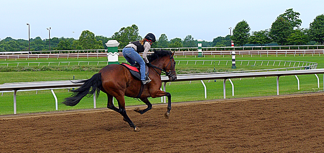 Keeneland workout