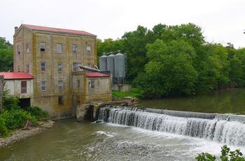 Weisenberger Mill on SOuth Elkhorn Creek in Midway, Kentucky