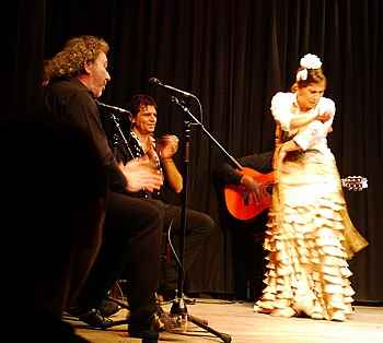 flamenco performers at Casa Patas in Madrid