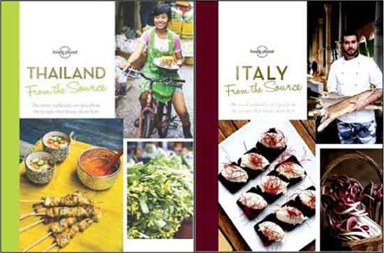 From the Source Thailand and Italy from Lonely Planet
