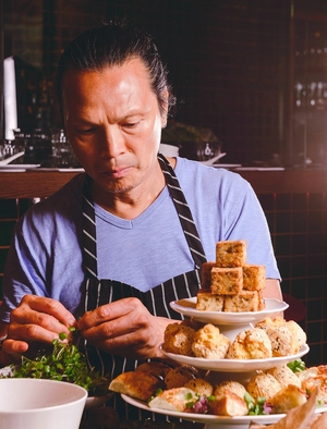 Chef Susur Lee of Luckee restaurant in Toronto