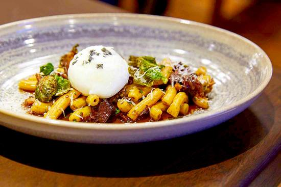 Braised beef cheeks and rigatoni at Provisions