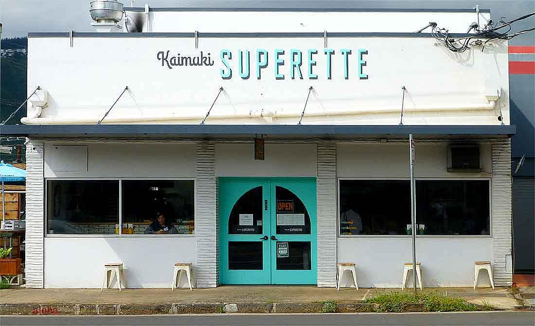Kaimuki in Honolulu, where Ed Kenney serves beet poke