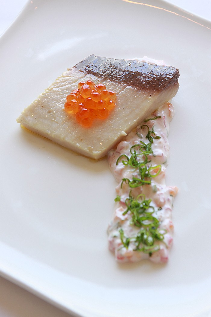 Chef Mavro Lomi Hamachi