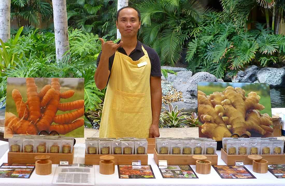Waikiki farmers' marker