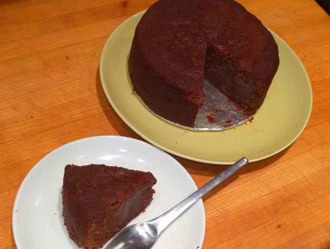 Montserrat rum cake