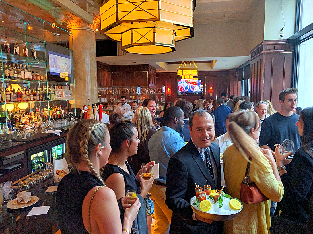 Grill 23 launch party for summer 2016 bar menu