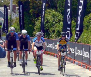 Cyclists finish 100-mile ride at Lexus Gran Fondo