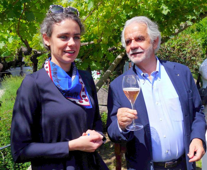 Lisa María and Paolo Endrici of Endrizzi