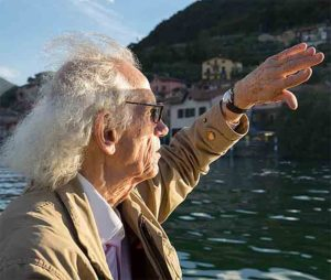 Christo at Lake Iseo