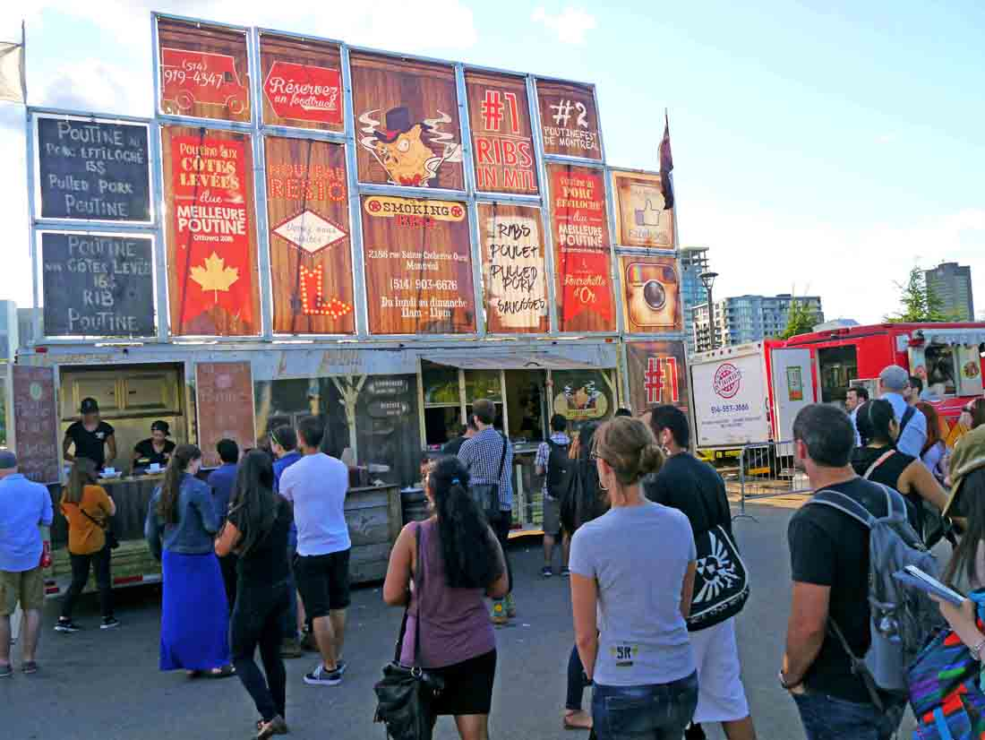 Le Smoking BBQ truck at Poutinefest