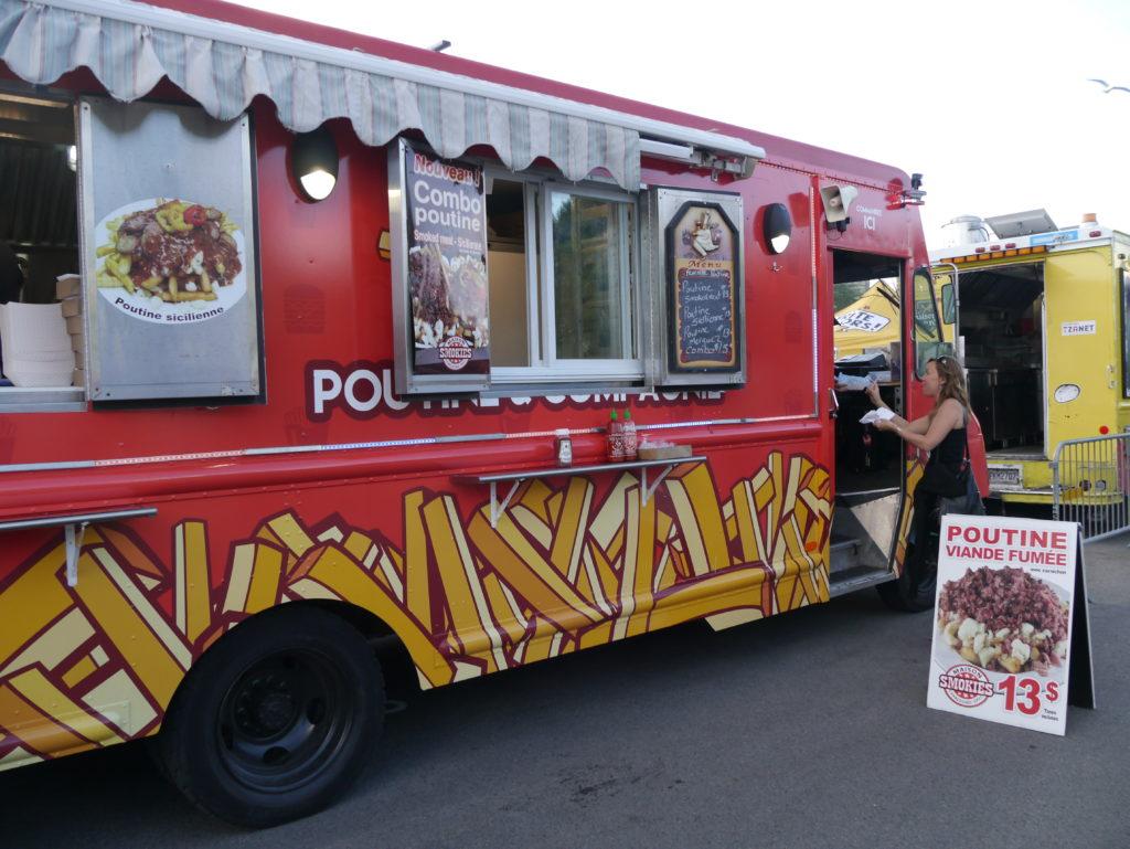 Maison Smokies Charcuterie-Deli serves smoked meat at Poutinefest