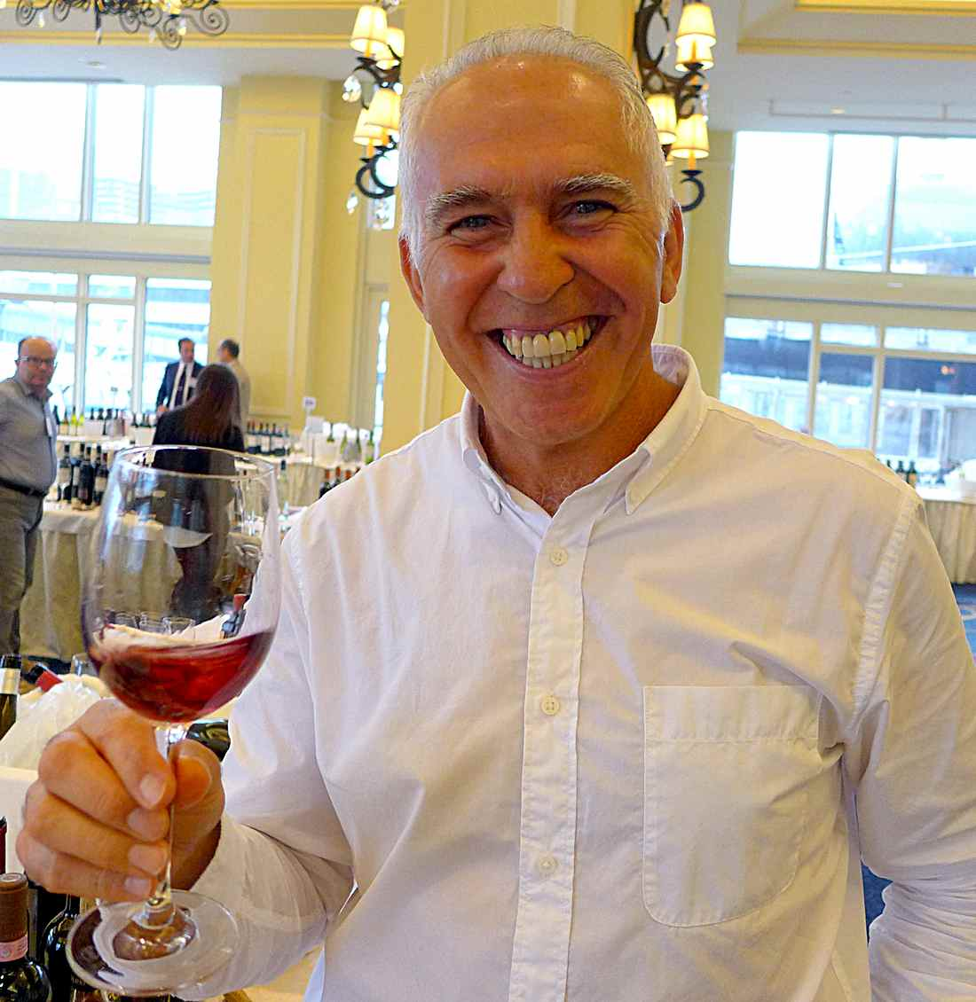 Luigi Valori at Boston tasting