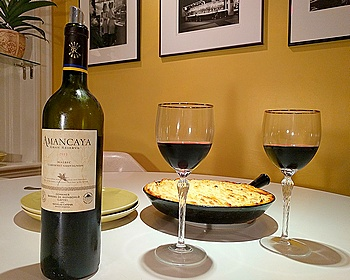 Amancaya with Patagonian shepherd's pie