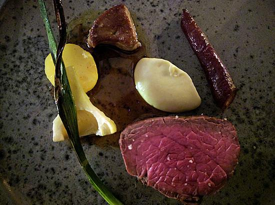 Chateaubriand and truffle at OX in Belfast