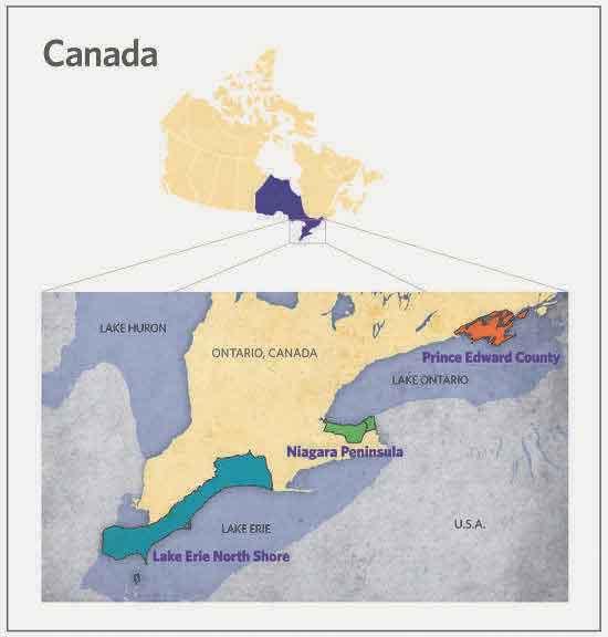 Ontario wine regions