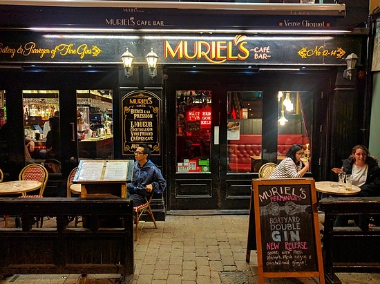 Muriel's Cafe and Bar in Belfast's Cathedral Quarter