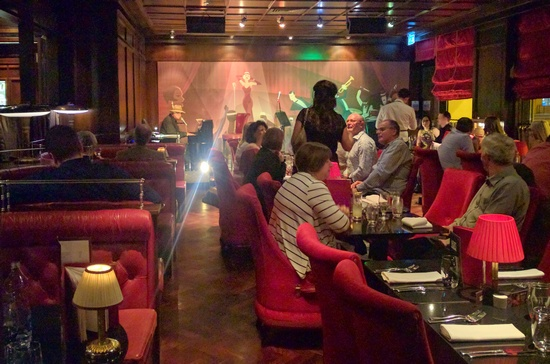 Bert's Jazz Bar at the Merchant Hotel in Belfast's Cathedral Quarter