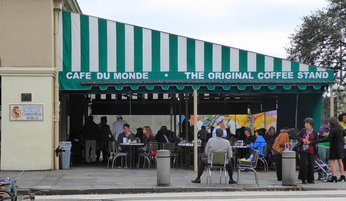 Café du Monde in New Orleans