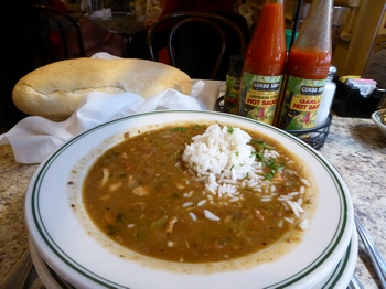 Gumbo at the Gumbo Shop, New Orleans