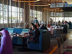 Dining room at Mary Eddy's in 21c Oklahoma City