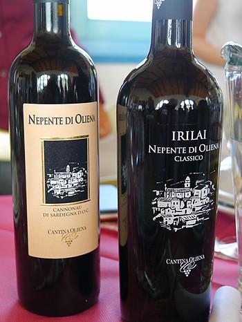 Cantina di Oliena bottles
