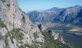 Oliena mountains