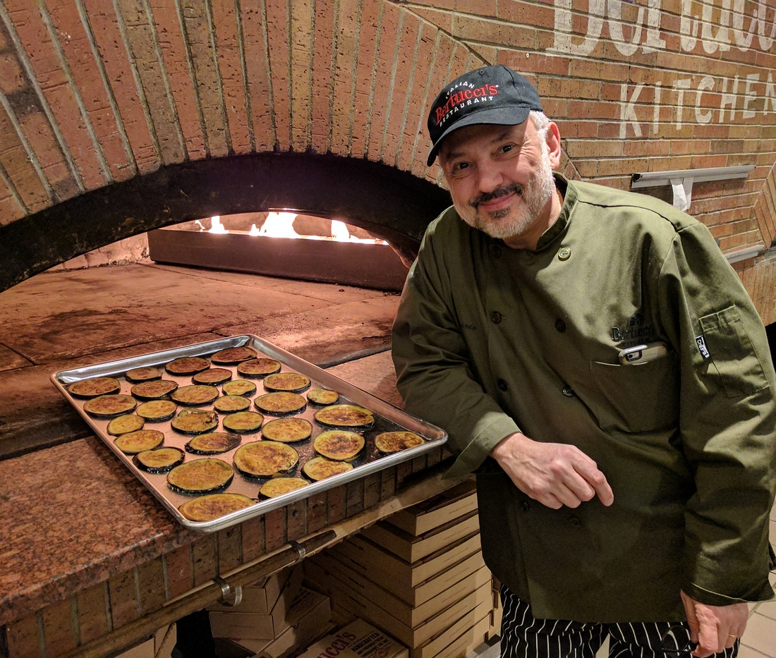 Executive chef Rosario Del Nero at Medford branch of Bertucci's