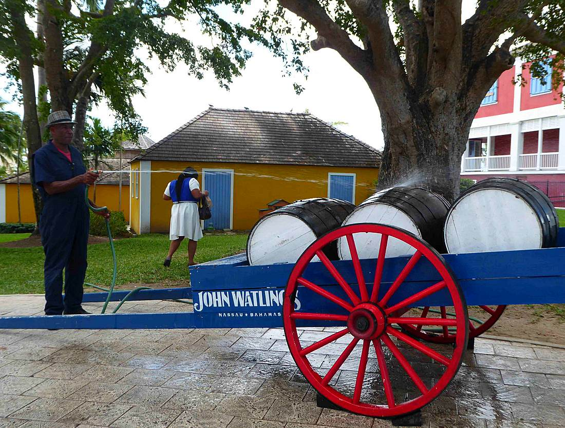 John Watling Distillery in Nassau, Bahamas