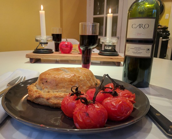 boeuf en croute with CARO