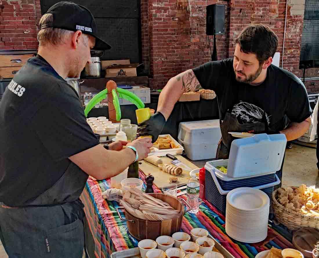 Cochon555 Deporkables chefs in Boston